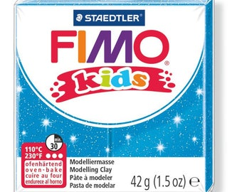 Polymer clay Kids 42 g - blue Paillete N 312 - Ref 68030312 - while quantities last!