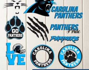INSTANT DOWNLOAD-Carolina Panthers svg,Carolina Panthers Cut Files,Carolina Panthers dxf,Panthers Baseball Clipart