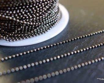 10 meters of string beads