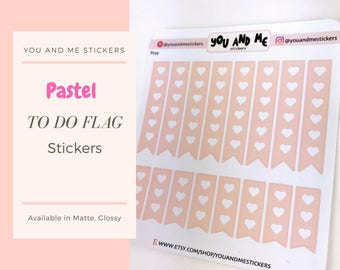 Pastel Stickers | Planner Stickers | To do Stickers | Checkout Stickers | Functional Stickers | ECLP | Erin Condren | Happy Planner | PS29