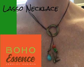 Lasso Boho Necklace
