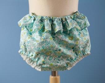 Bloomer de bain bébé Liberty Betsy Mint Lemon