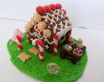 House Hansel and Gretel Fimo