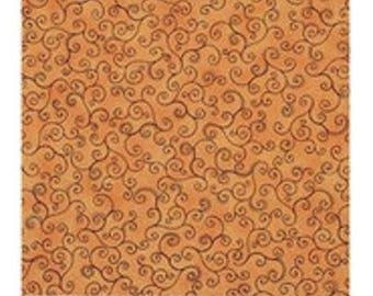 your orange salmon ref 23134 plain faux patchwork fabric