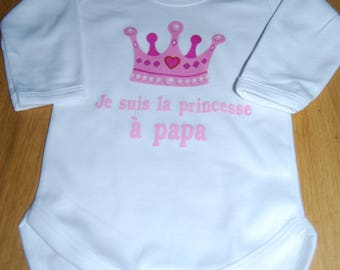 Princess Bodysuit has dad