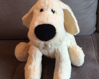 Plush dog heating pad
