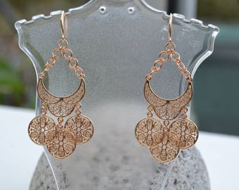 PAIR earring gold Flash
