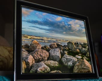 Original photography artwork - 8x10 metal framed picture