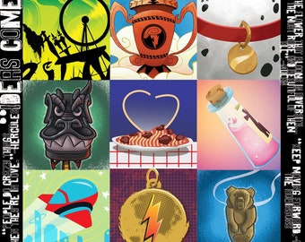 Disney Movies - Icon Graphic - Perfect for Creating your Own Geeky Girl Garb