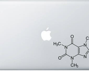 I Heart Equations Caffeine Structure Decal