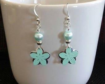 """Earrings """"Almond Blossom"""" 3.5 cm"""