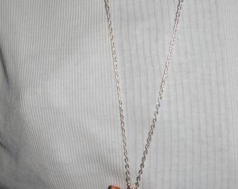 Fimo ice cream cone necklace