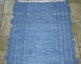 Blue Rag Rug