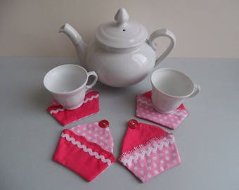 Placemats, coasters or mug cup cake