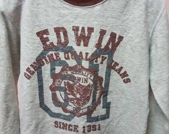 Rare EDWIN genuine quality jeans