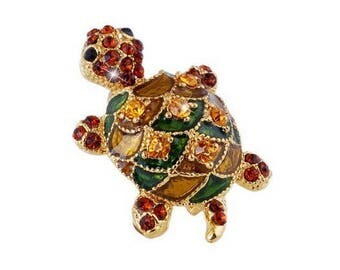 Turtle brooch, lovely little brooch for children