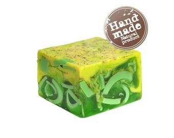 Cream Soap with shea butter  Green Tea