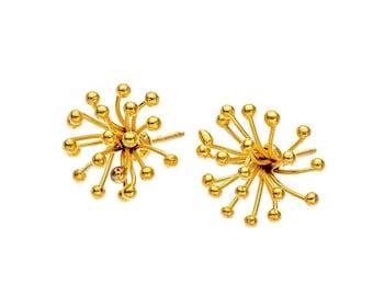 Blossom Earrings in Gold