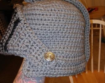 Crochet Knights Helmet