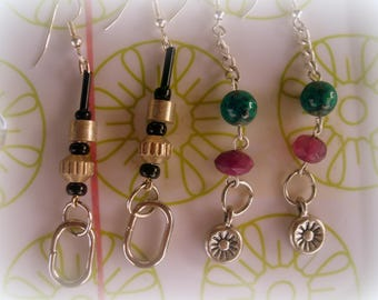 Set of 4 pairs * lightweight for summer earrings