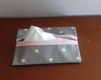 handkerchief cotton coated bag case