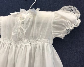 Brussels Lace Christening Set