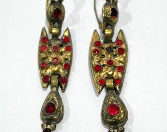 Antique butterfly earrings.