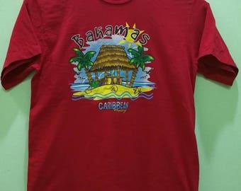 Rare Vintage 90's Bahamas Caribbean