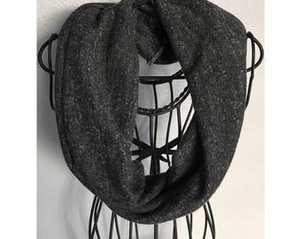 Infant/ toddler dark gray scarve