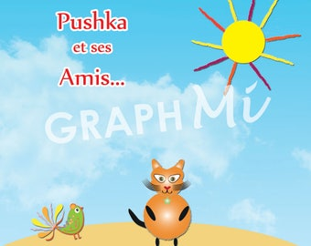 """Book """"Pushka and his friends"""" volume 1"""