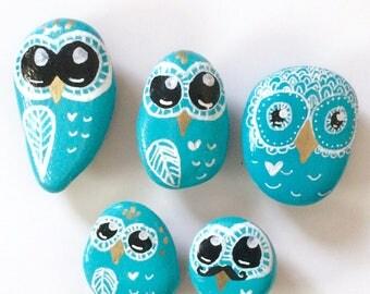 Blue Owl Magnets