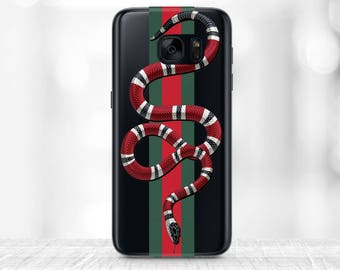 Gucci Red Snake Samsung S8 case Gucci iPhone 7 plus case Gucci iPhone Case the Making of Gucci iPhone 7 case Gucci iPhone 6 Case Gucci Snake