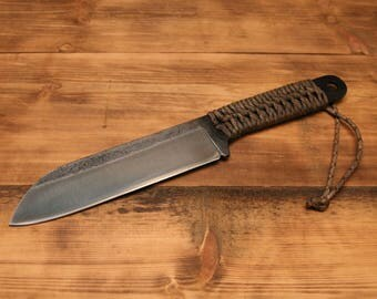 Woods Tool - hand made - chopper - camp knife