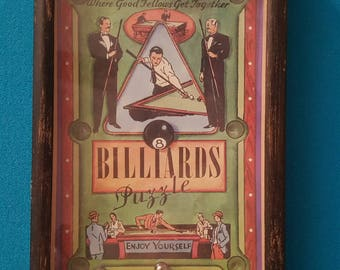 Toys in the Cupboard Billiards Puzzle