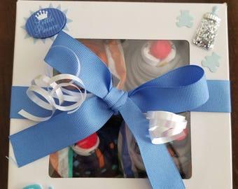 Baby Boy Cupcake Onesie, Cupcake Onesie, Baby Boy Gift, Baby Shower Gift, New Mom Gift, Baby Gift, Onesie Cupcake, Baby Gift Set, Unique