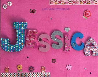 Decoration of children's room and baby, birthday gift