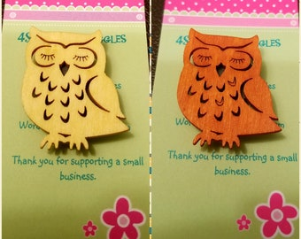Needle minder, owl needle minder, quilting, sewing, cross stitch tool