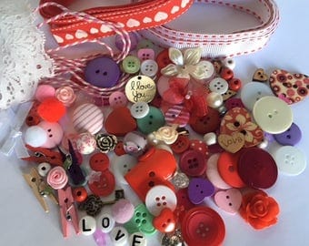 With Love Embellishment Kit