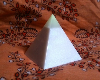 Glow Resin Pyramid.