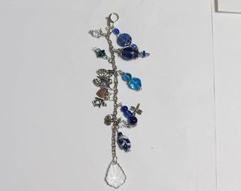 Bead Charm Dangle Blue