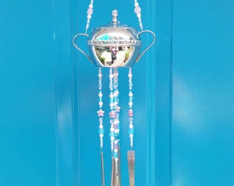 Beaded wind chime