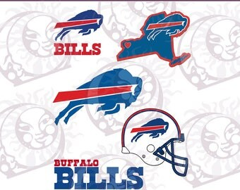 Bills Logo - SVG, EPS, PNG Cutting and Design Files, Instant Download