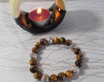 """Bracelet natural stones """"Tiger eye"""" (introductory offer)"""