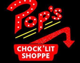 Riverdale Pop's Chocklit Shoppe SVG