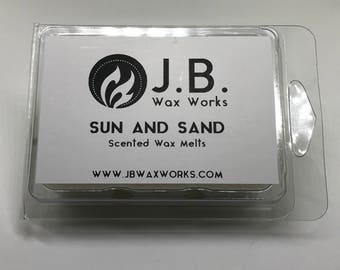 SUN AND SAND Scented Wax Melts