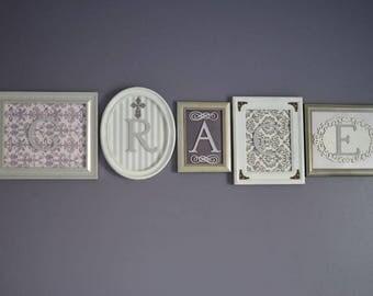 Decorative Name Frames