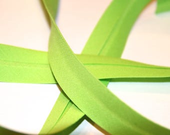 18MM GREEN POLYCOTTON FABRIC