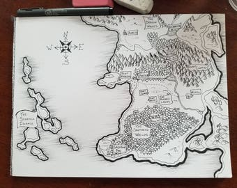 Custom Fantasy Map