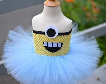 Minion Costume Tutu