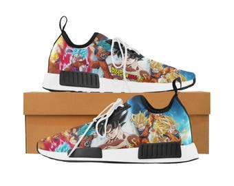 Super Saiyan Goku Collection Sneakers - Dragonball - Custom Shoes Men's
